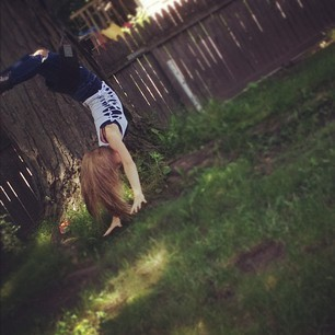 In that wonderful process of falling(;